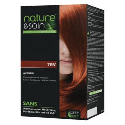 Santé verte nature & soin coloration permanente 7RV auburn 132ml