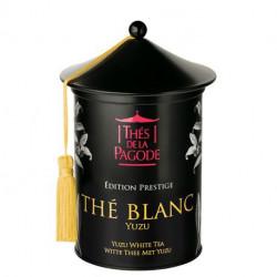 Thé de la Pagode Thé blanc yuzu édition prestige 100g