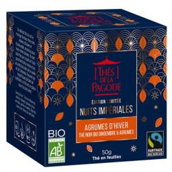 Thé de la Pagode Thé noir agrumes d'hiver 50g