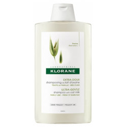 Klorane shampoing doux au lait d'avoine 400ml
