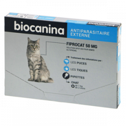 Biocanina Fiprocat 50MG /3p