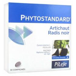 Pilèje Phytostandard d'Artichaut-Radis noir 30 comprimés
