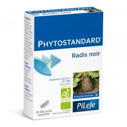 Pileje Phytostandard Radis Noir 20 gélules