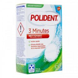 Polident nettoy 3 min 66 cps
