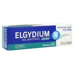 Elgydium junior 7/12 menthe douce 50ml