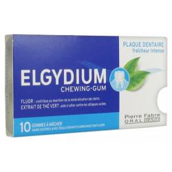 Elgydium plaque dentaire 10 gommes