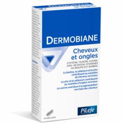 Pilèje Dermobiane Cheveux et ongles 40 gélules