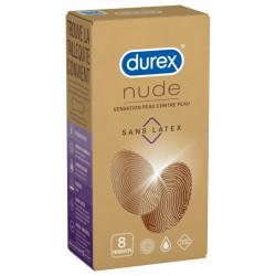 DUREX NUDE SANS LATEX X8