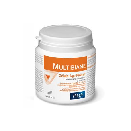 Pilèje Multibiane Age Protect 120 gélules