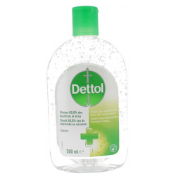 DETTOL GEL ANTI BACTERIEN 500 ML