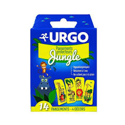 Urgo pansements jungle boite de 14
