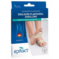 Epitact coussinets plantaires durillons taille L x2