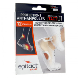 Epitact protections anti-ampoules sport tact 01 x12