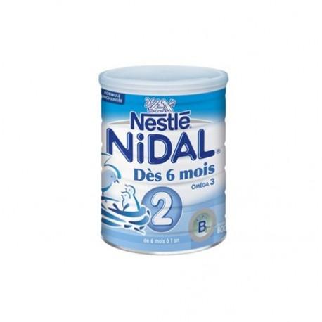 Nidal lait 2ème âge 800 g