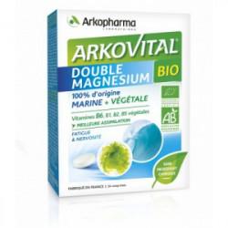 Arkovital Double Magnésium Bio 30 comprimés