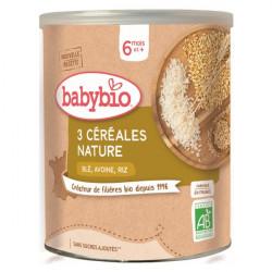 Babybio 3 Céréales nature 200g