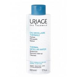 Uriage eau micellaire thermale peaux normales à sèches 500ml