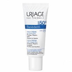 Uriage bariéderm cica-crème spf50+ au cuivre zinc 40ml