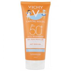 Vichy capital soleil gel peau mouillée enfants SPF50+ 200ml