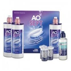 Aosept plus pack 360ml x3 + 90ml Offert