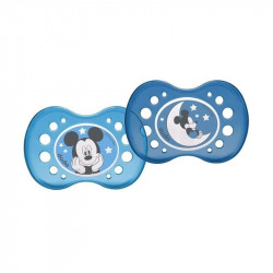 Dodie Duo Sucette Anatomique Nuit Mickey +18