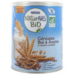 Naturnes céréales bio blé et avoine dès 6 mois