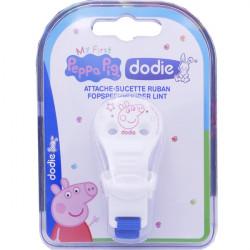 Dodie Peppa Pig Attache-Sucette Ruban