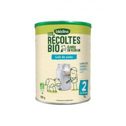 Blédina les récoltes bio lait de suite 2ème âge 800g