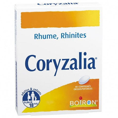 Coryzalia 40 comprimés dispersibles Boiron