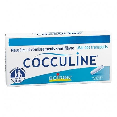 Boiron Cocculine 6 Récipients Unidoses