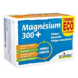Boiron magnésium 300+ cure de 20 jours x2