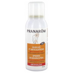 Pranarôm Aromalgic Spray Muscles et Articulations Bio 75 ml