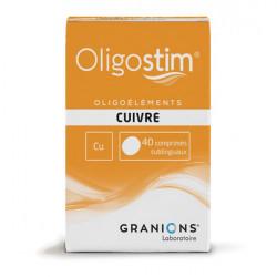 Granions oligostim cuivre 40 comprimés