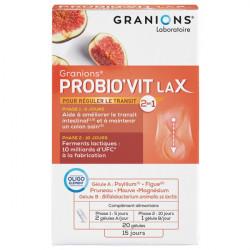 Granions probio'vit lax 20 gélules 9g