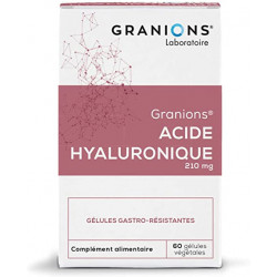 Granions acide hyaluronique 60 gélules 16g