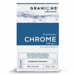 Granions de chrome 60 comprimés 12g