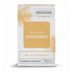 Granions gingembre 30 gélules 9g