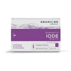 Granions Iode 30 ampoules 2ml