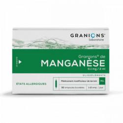 Granions de manganèse 30 ampoules 60ml