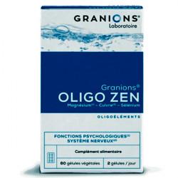 Granions oligo zen 60 gélules 34g