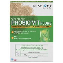 Granions probio'vit flore 30 jours 30 gélules 14g
