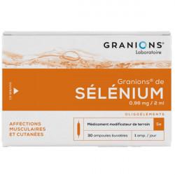 Granions sélénium 30 ampoules 2 ml