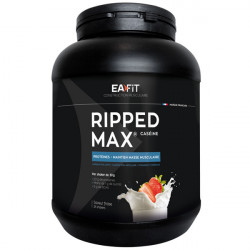 EA FIT RIPPED MAX CASEINE FRAISE