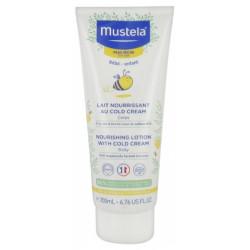 Mustela Lait au Cold Cream à la Cire d'Abeille 200 ml