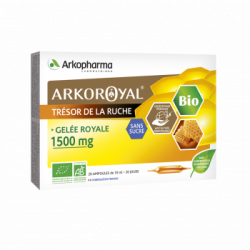 Arko ruche royale gelée 1500mg ampoule 20 ampoules