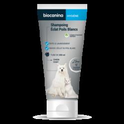 Biocanina shampoing éclat poils blancs 200ml