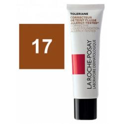 La Roche-Posay Tolériane Correcteur de Teint Fluide 30 ml 17 Caramel