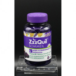 Zzz Quil Sommeil 60 Gommes