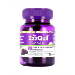 ZzzQuil Sommeil Gommes 30 gommes