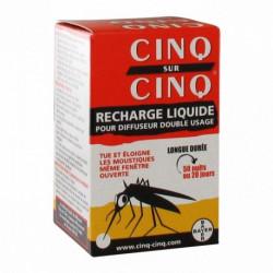 CINQ SUR CINQ Recharge Liquide Anti-Moustiques 35 ml